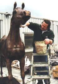 brons rasecht Arabisch paard Kubinec
