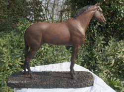 Portrait  im Bronze von Amon