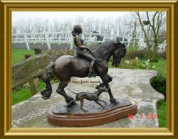 frisian under saddle