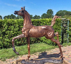 Life-size arabian filly
